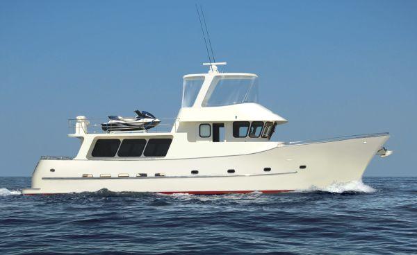 Allan Barnett Motor Yachts High Seas 63