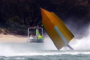 Evinrude superboat series flip