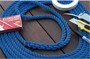 Eye Splicing a three strand mooring rope