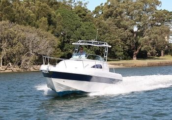 Gulf Craft Silver Craft 349 power boat.jpg