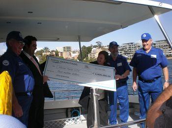 NSW Marine Rescue receives $3 million cheque from Ports & Waterways.jpg