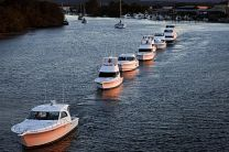 Riviera Motor Yachts leave for Sydney Boat Show