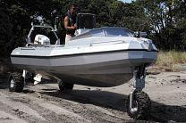 Sealegs amphibious boats Sydney Boat Show