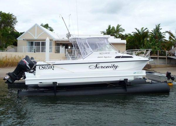 Sunshine Coast Boat Lifts K-Series Sanctuary Cove
