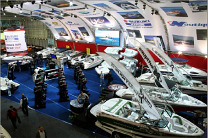 The Haines Group Boat Show exhibit