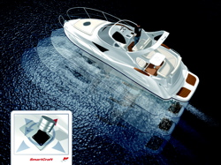 Axius steers sideways without bow thrusters